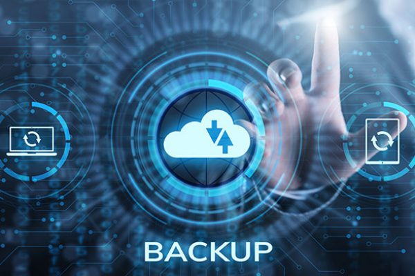 Backup Software Application Database internet technology concept